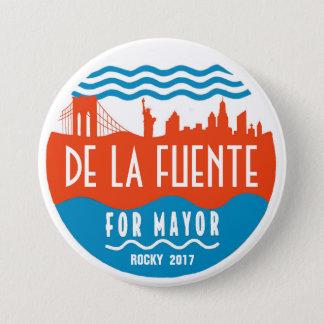 Rocky De La Fuente for NYC Mayor 2017 7.5 Cm Round Badge