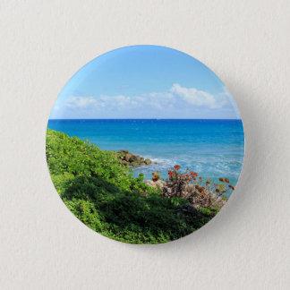rocky-foliage-coast-deerfield-beach-4s6490 6 cm round badge
