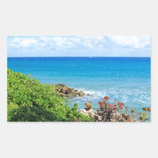 rocky-foliage-coast-deerfield-beach-4s6490 rectangular sticker