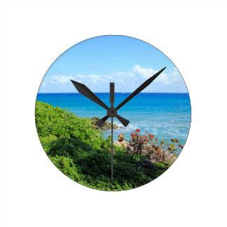 rocky-foliage-coast-deerfield-beach-4s6490 round clock
