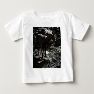 Rocky Mountain Bighorn Sheep, ewe Baby T-Shirt