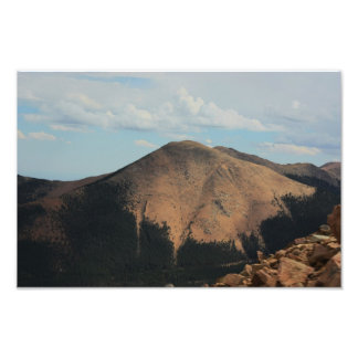 Rocky Mountain by Colorado Spring's Photo Print