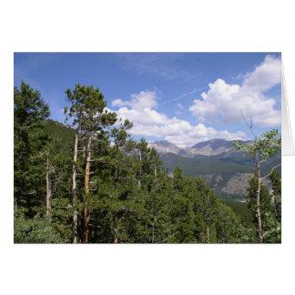 Rocky Mountain  Card