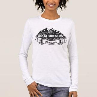 Rocky Mountain Emblem Black Long Sleeve T-Shirt