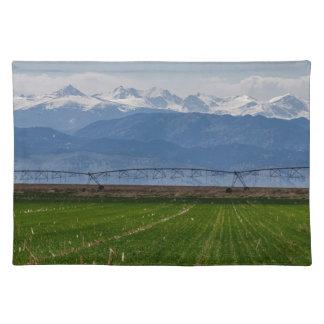 Rocky Mountain Farming View Placemat