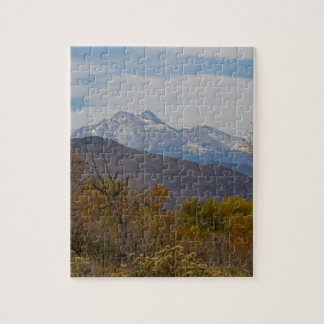 Rocky Mountain Foothills View Jigsaw Puzzle