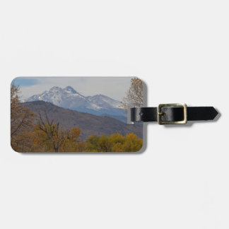 Rocky Mountain Foothills View Luggage Tag