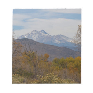 Rocky Mountain Foothills View Notepad
