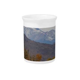 Rocky Mountain Foothills View Pitcher