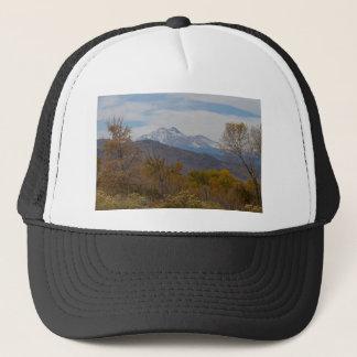 Rocky Mountain Foothills View Trucker Hat