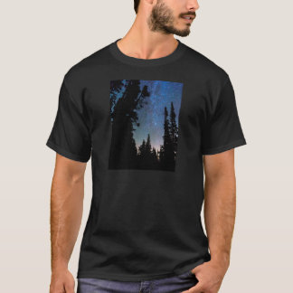 Rocky Mountain Forest Night T-Shirt