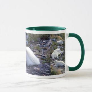 Rocky mountain goat mug