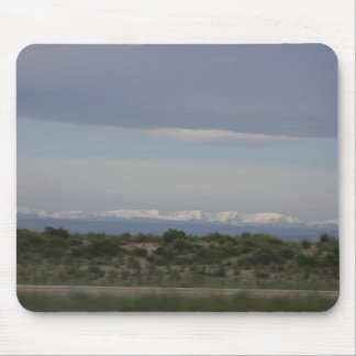 Rocky Mountain Landscape Mouse Pad