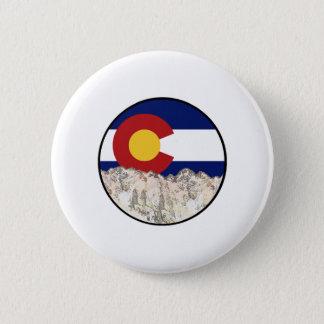 Rocky Mountain Love 6 Cm Round Badge
