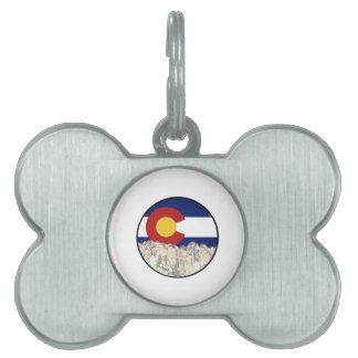 Rocky Mountain Love Pet Tag