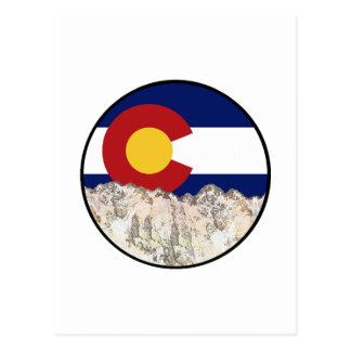 Rocky Mountain Love Postcard