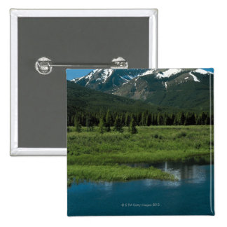 Rocky Mountain National Park , Colorado 15 Cm Square Badge