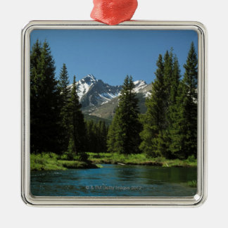 Rocky Mountain National Park , Colorado 2 Metal Ornament
