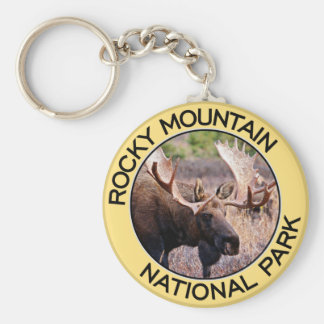 Rocky Mountain National Park Key Ring