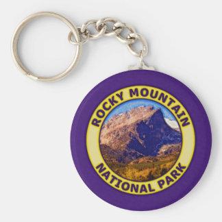 Rocky Mountain National Park Key Ring