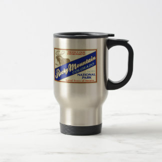 Rocky Mountain National Park  (Moose) Travel Mug