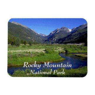 Rocky Mountain National Park Rectangular Photo Magnet