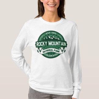 Rocky Mountain NP Forest Green T-Shirt