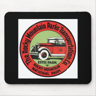 Rocky Mountain Park Mouse Pad