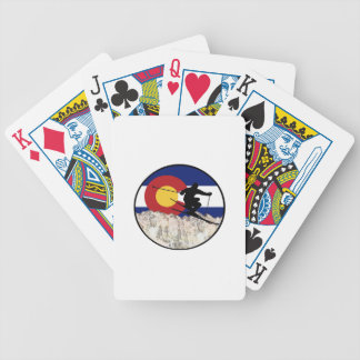 Rocky Mountain Pass Bicycle Playing Cards