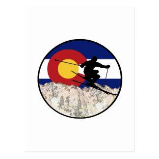 Rocky Mountain Pass Postcard