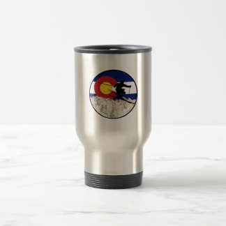 Rocky Mountain Pass Travel Mug