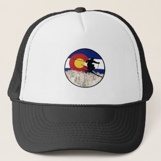 Rocky Mountain Pass Trucker Hat
