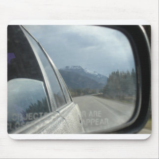 Rocky Mountain Rearview Mouse Pad