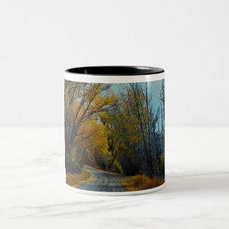 Rocky Mountain Road Two-Tone Coffee Mug