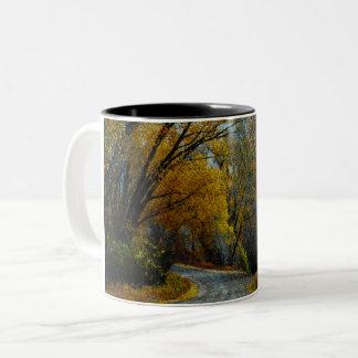 Rocky Mountain Road Two-Tone Coffee Mug
