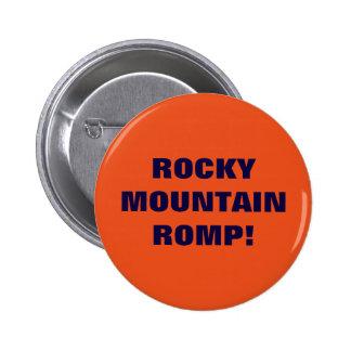 ROCKY MOUNTAIN ROMP 6 CM ROUND BADGE
