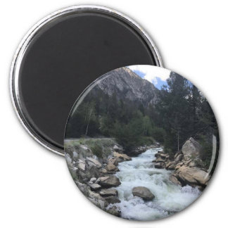 Rocky Mountain Stream Magnet