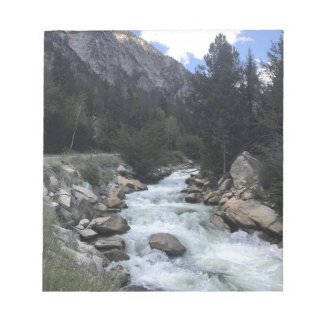 Rocky Mountain Stream Notepad