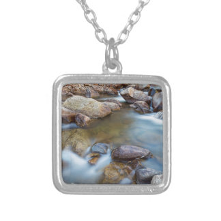 Rocky Mountain Streaming Dreaming Silver Plated Necklace