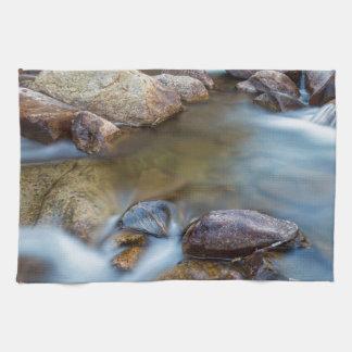 Rocky Mountain Streaming Dreaming Tea Towel