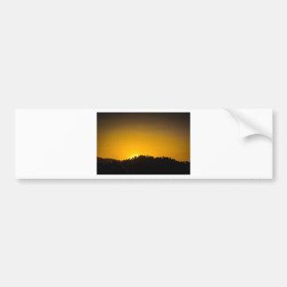 Rocky Mountain Sunset Bumper Stickers