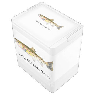 Rocky Mountain Trout Fish Cooler