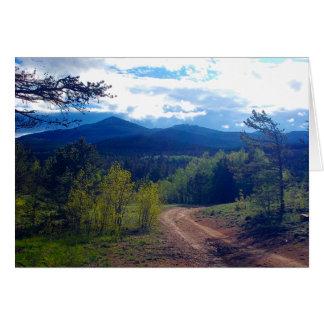 Rocky Mountain Wilderness Card
