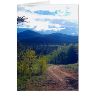 Rocky Mountain Wilderness Card