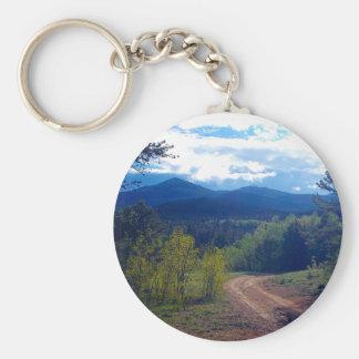 Rocky Mountain Wilderness Key Ring