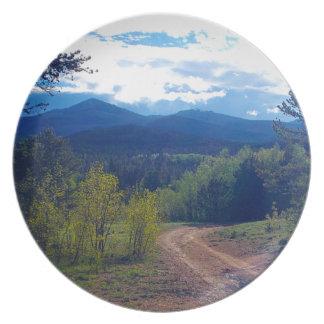 Rocky Mountain Wilderness Plate