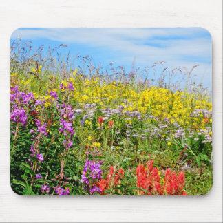 Rocky Mountain Wildflowers Mousepad