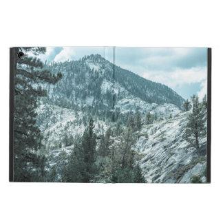 Rocky Mountain With Trees Near Lake Tahoe iPad Air Covers