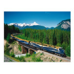 Rocky Mountaineer Train Postcard