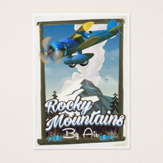 Rocky Mountains by Air! Business Card